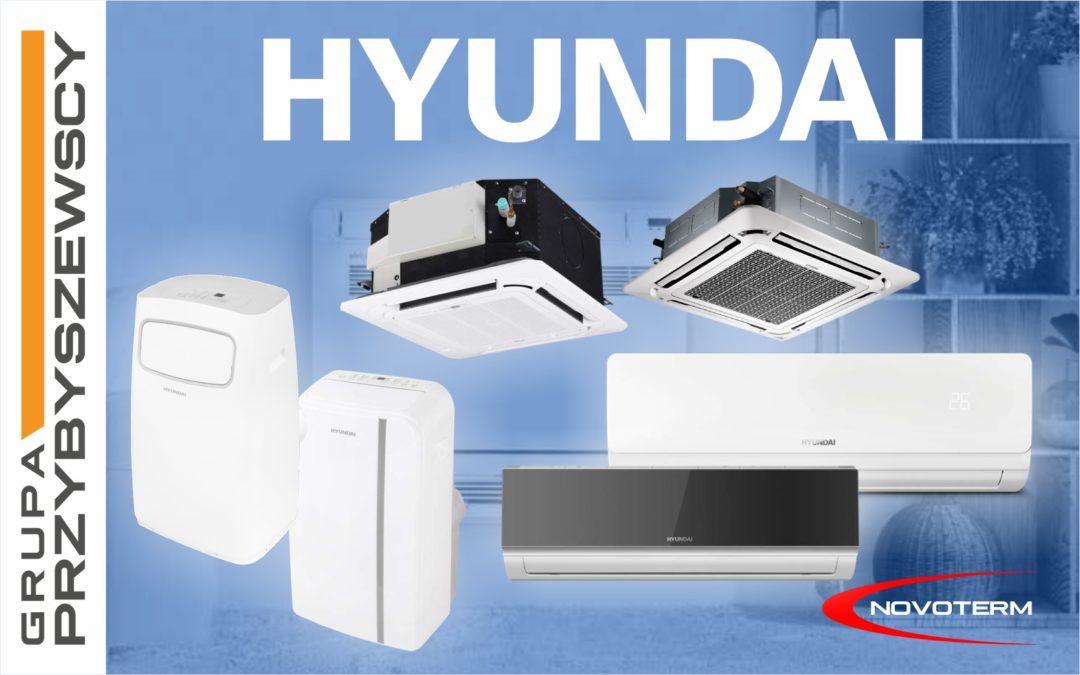 Klimatyzatory Hyundai w ofercie NOVOTERM