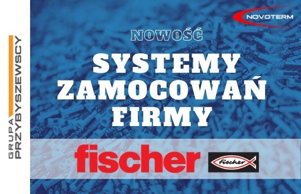 Poszerzamy ofertę – wprowadzamy zawiesia marki Fischer
